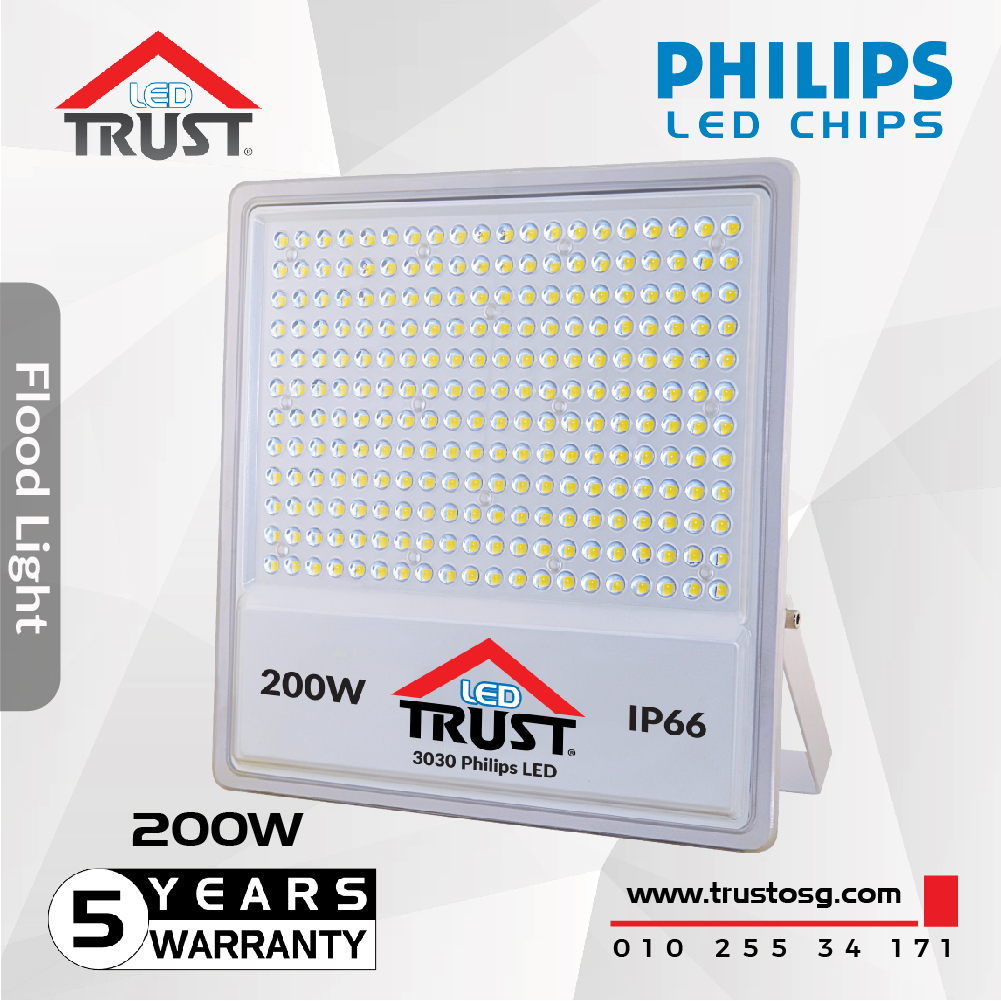 Flood Light Philips 200 W (TST-TGS012-200W)